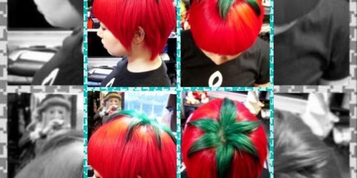 Moda en Japón: pintarse y cortarse el cabello como un tomate