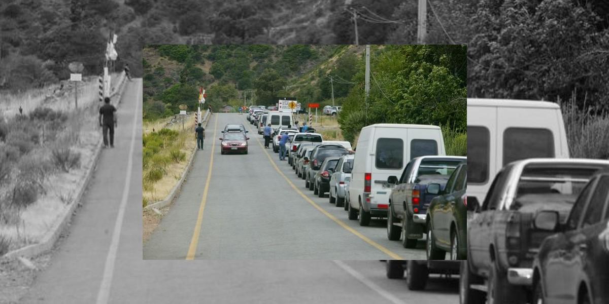 Suspenden tránsito de ruta internacional 115-CH del Paso Pehuenche por frente de mal tiempo