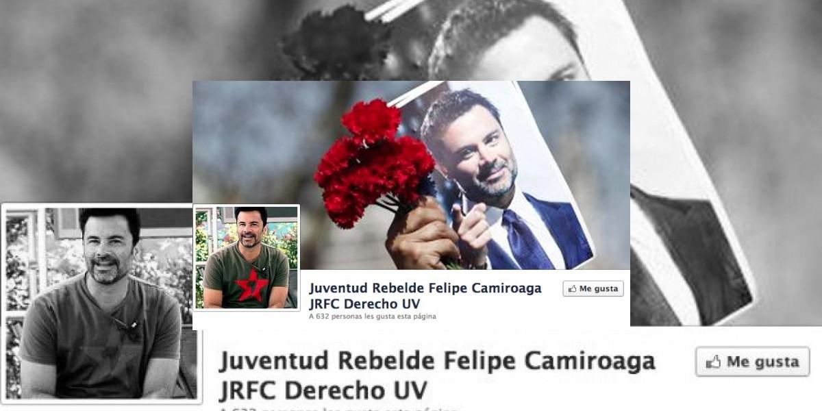 "Universitarios crean curioso grupo político: ""Juventud Rebelde Felipe Camiroaga"""