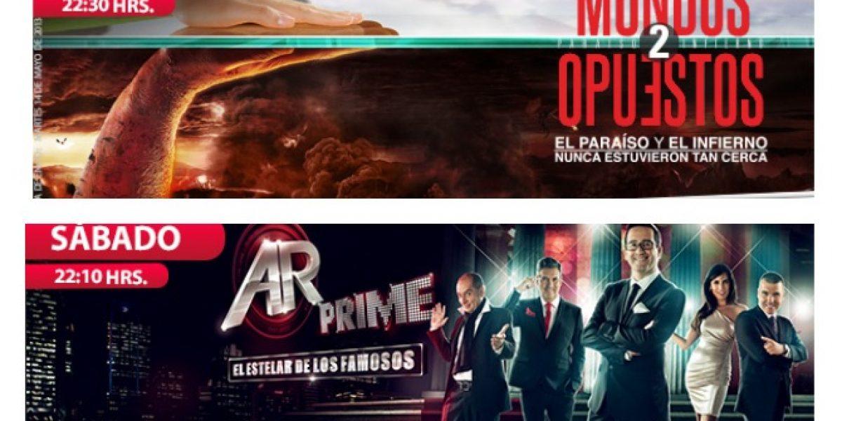 AR Prime cambia de día y se enfrenta a MCC y Teatro en Chilevisión