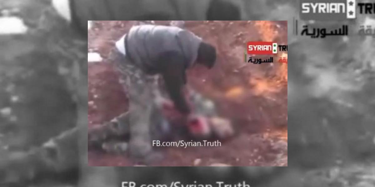 ONU reacciona por video de rebelde sirio comiendo el corazón de un enemigo