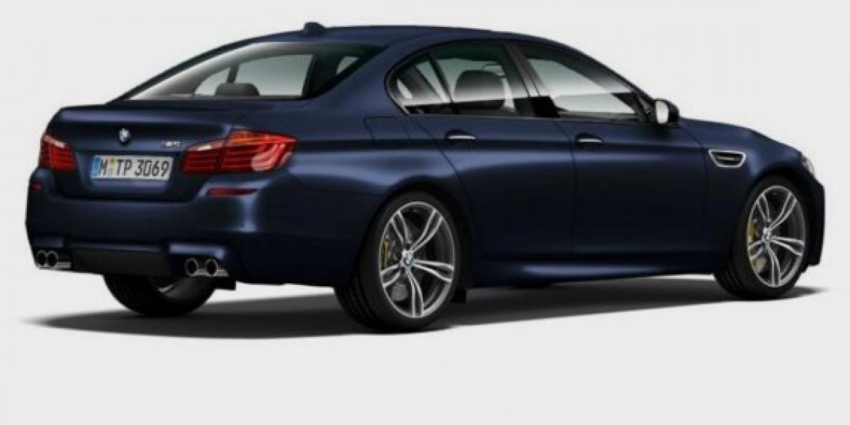 FOTOS: El BMW M5 fue modificado