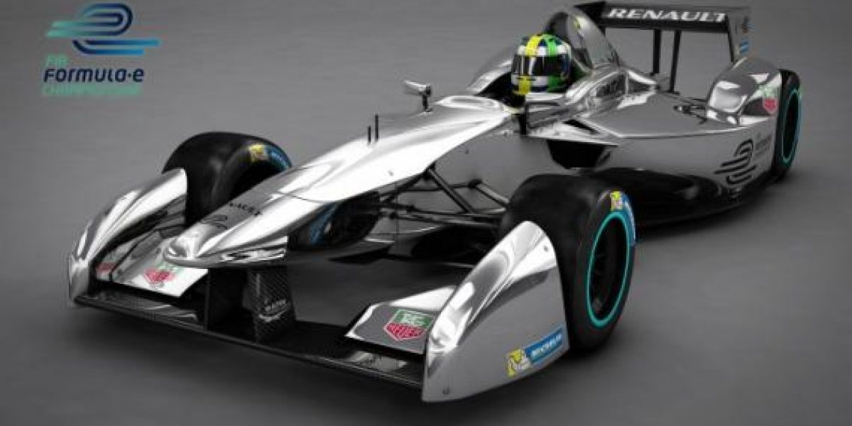 Así serán los monoplazas de la Fórmula E