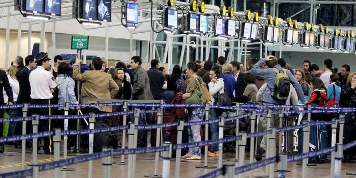 [FOTOS] A partir de las 11:30 hrs de este sábado LAN reanudará sus vuelos entre Chile y Argentina