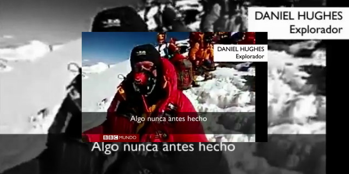 [VIDEO] Realizan la primera videollamada desde la cima del Everest