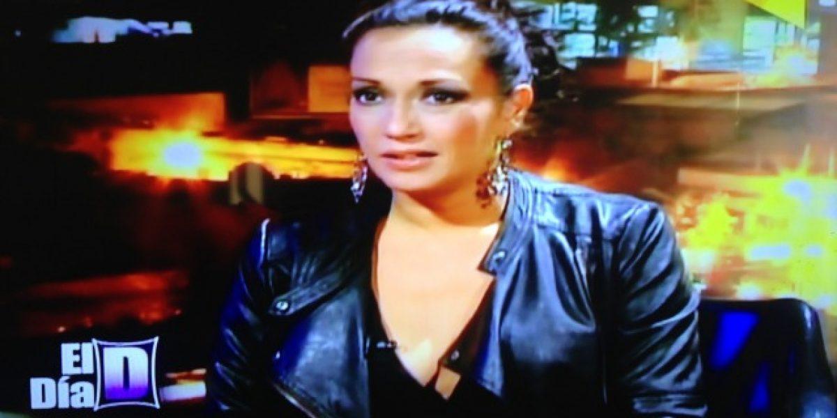 Marisela Santibañez confesó detalles de su despedida en Show de goles