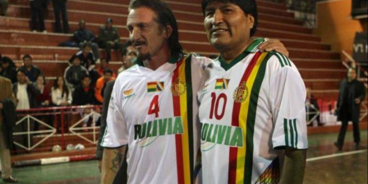 Atrás quedan los días de amistad entre Sean Penn y Bolivia