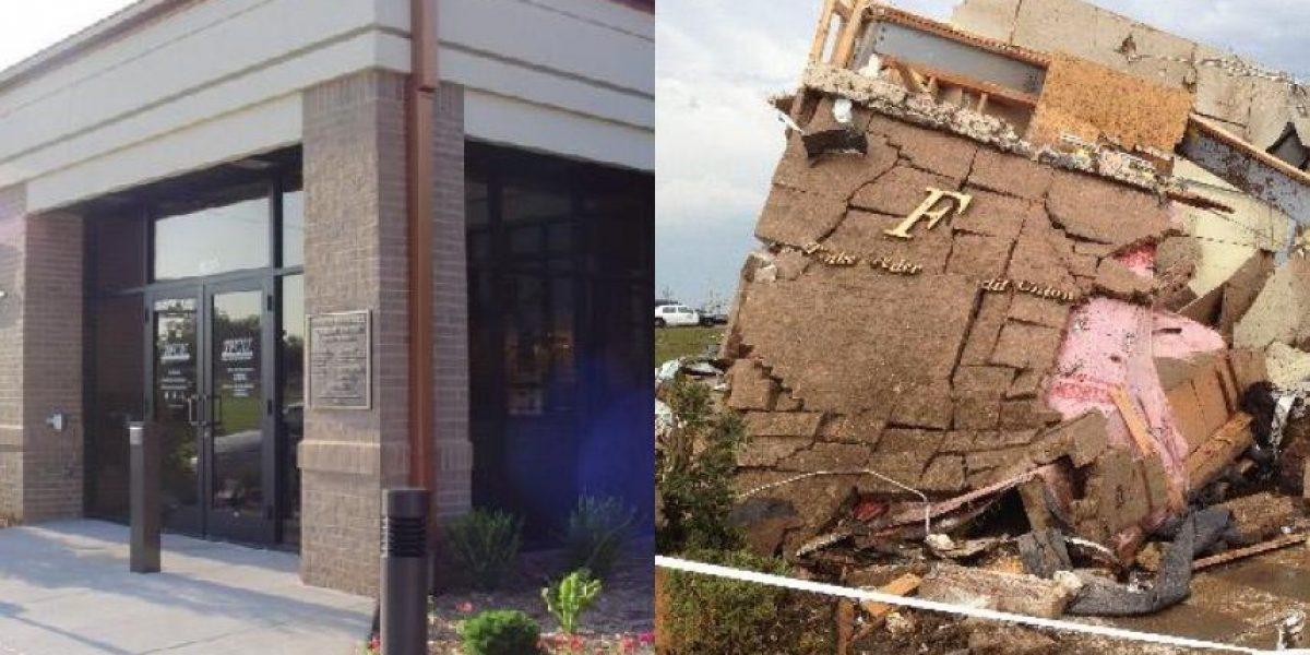 La increíble historia de la caja fuerte que salvó a 22 personas del tornado de Oklahoma