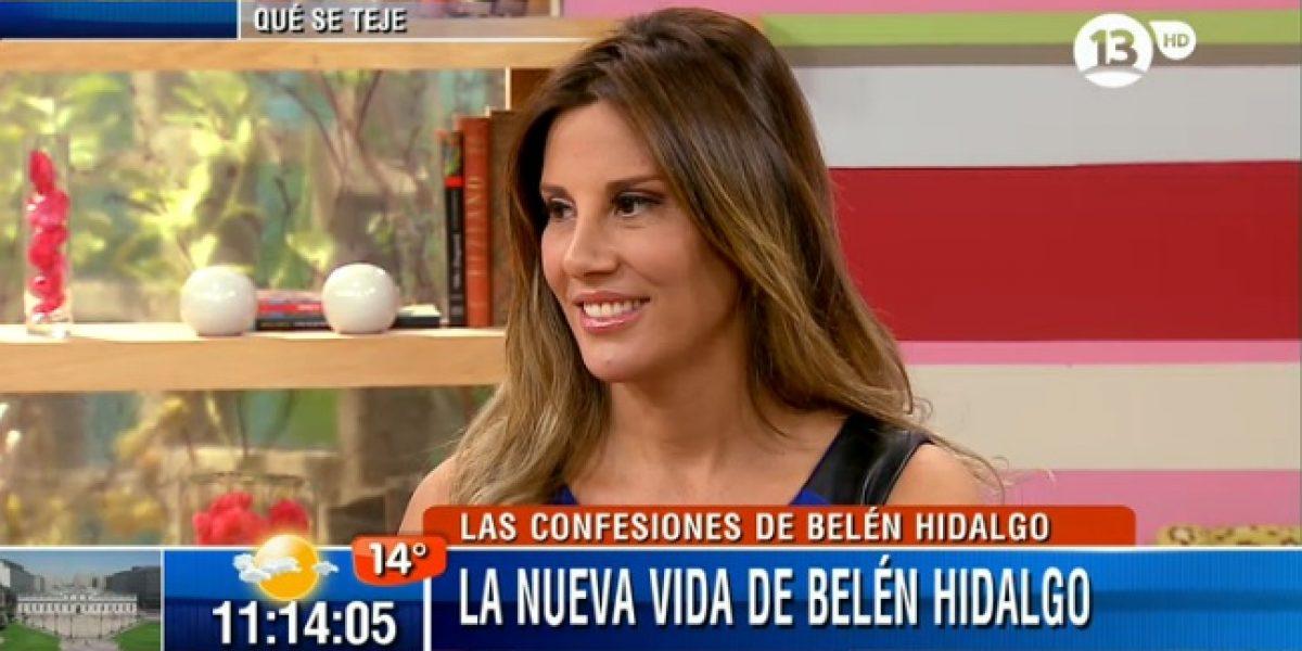 Belén Hidalgo muestra su embarazo en
