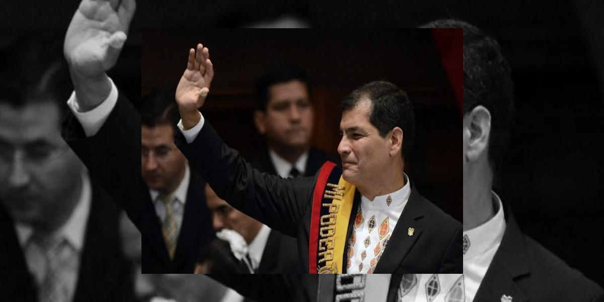 Rafael Correa asume su tercer mandato como presidente de Ecuador