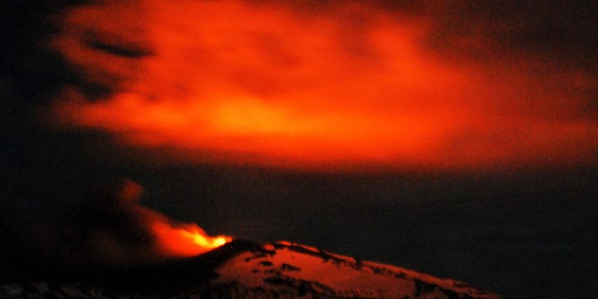 Impresionantes imágenes de la erupción del volcán Copahue