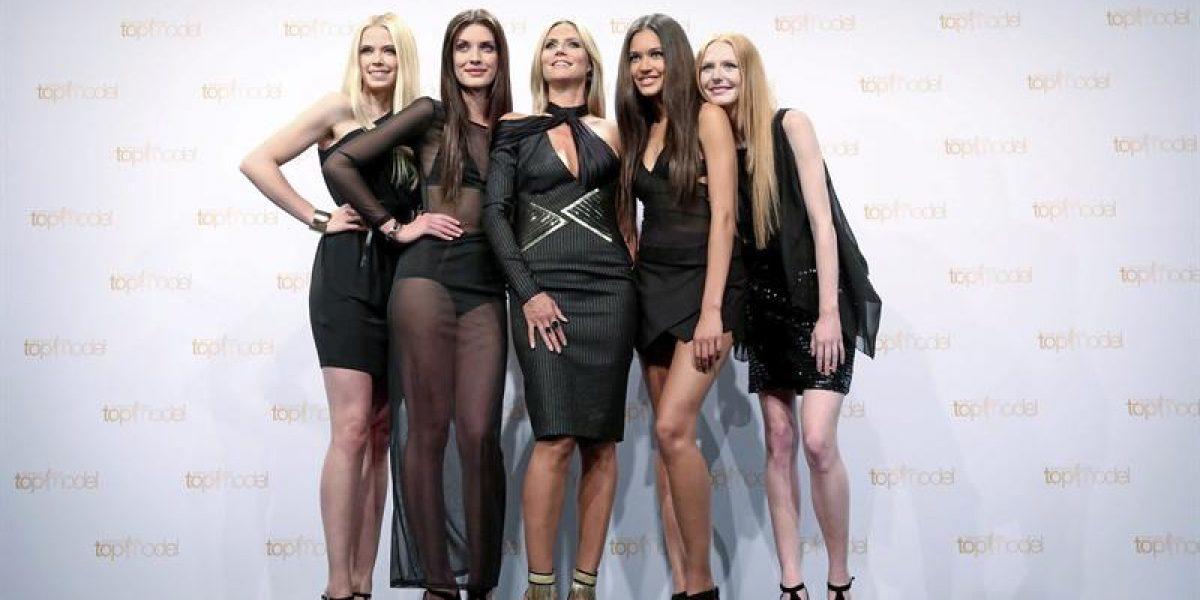 Heidi Klum se luce con finalistas del