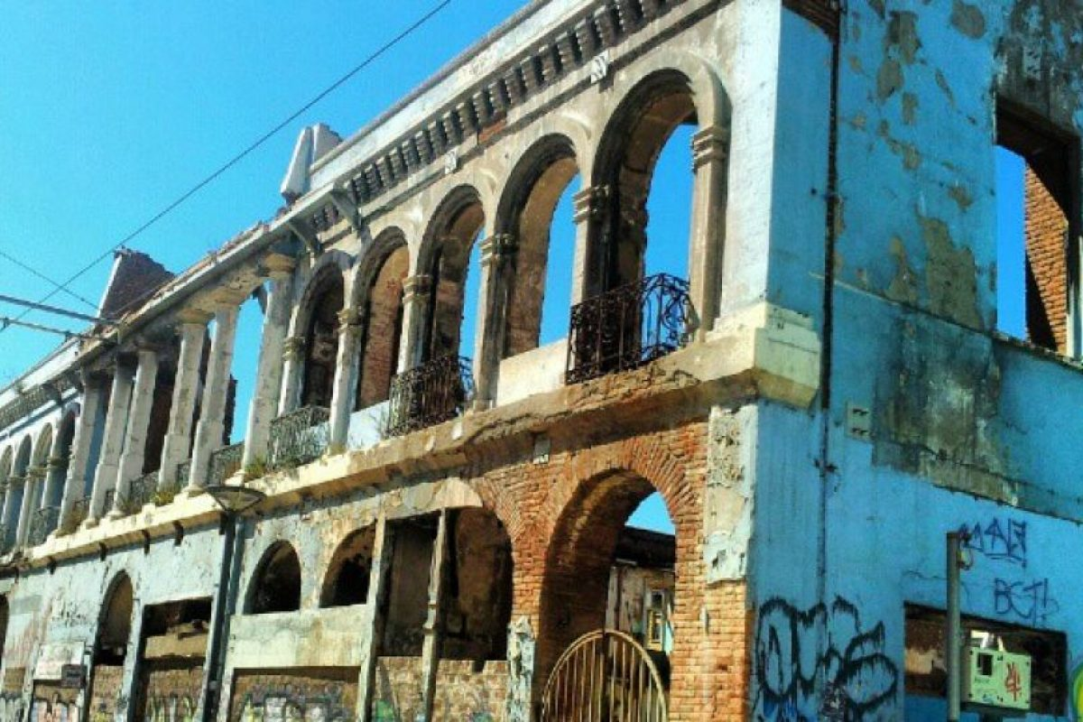 Casona del Barrio La Matriz de Valparaíso. Imagen Por: