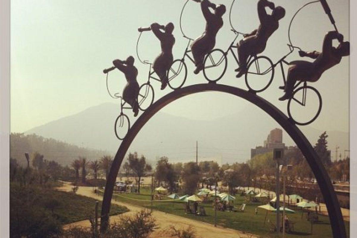 Parque Bicentenario Vitacura. Imagen Por: