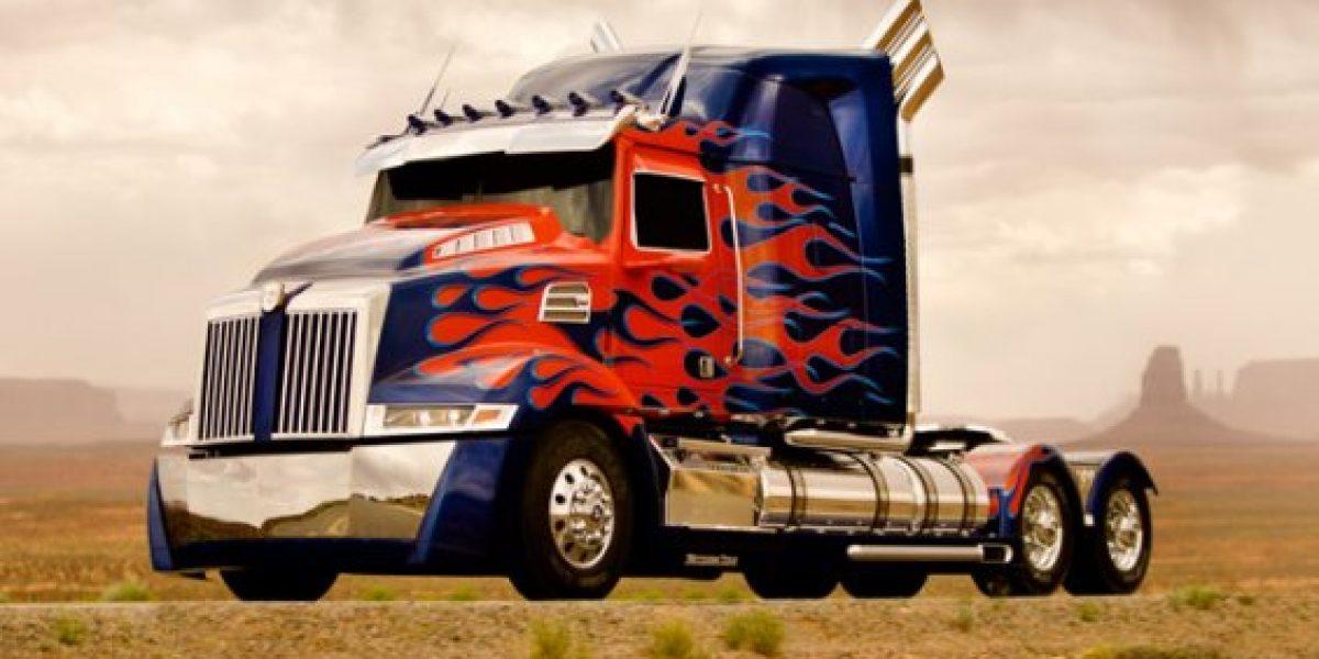 Primera imagen del renovado Optimus Prime