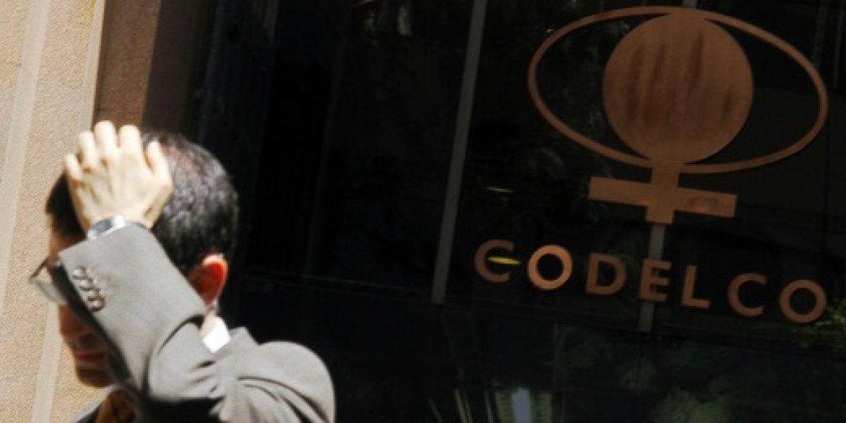 Baja del precio del cobre provoca caída de 42,58% en excedentes de Codelco