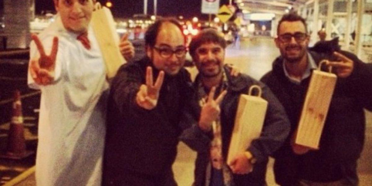 Con esta foto Ariel Levy anuncia el fin del rodaje de