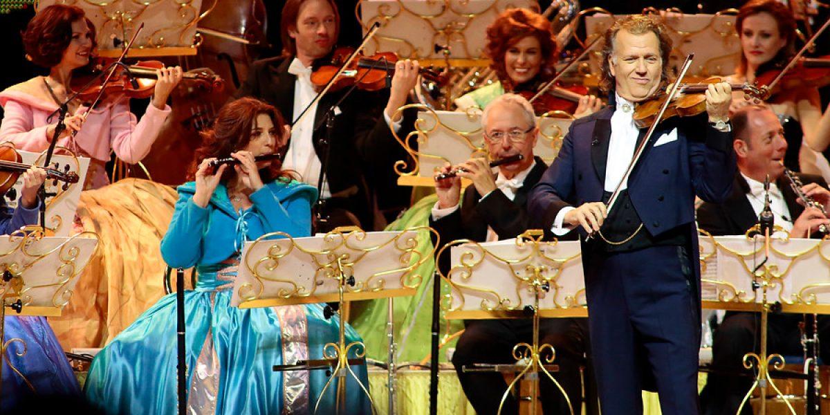 André Rieu alegró con un show de elite para todos
