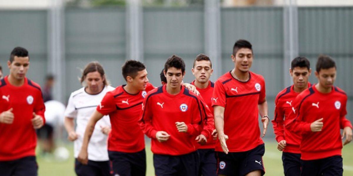 Lluvia y ausencia de Rabello marcan primera práctica de Chile en Bursa