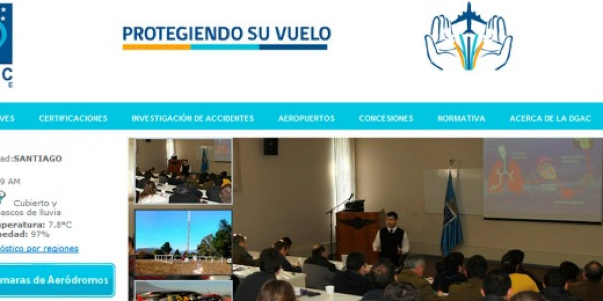 DGAC presenta nuevo portal Web para sus usuarios