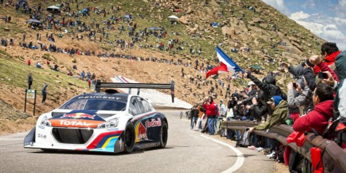 Loeb rompe un nuevo récord en Pikes Peak