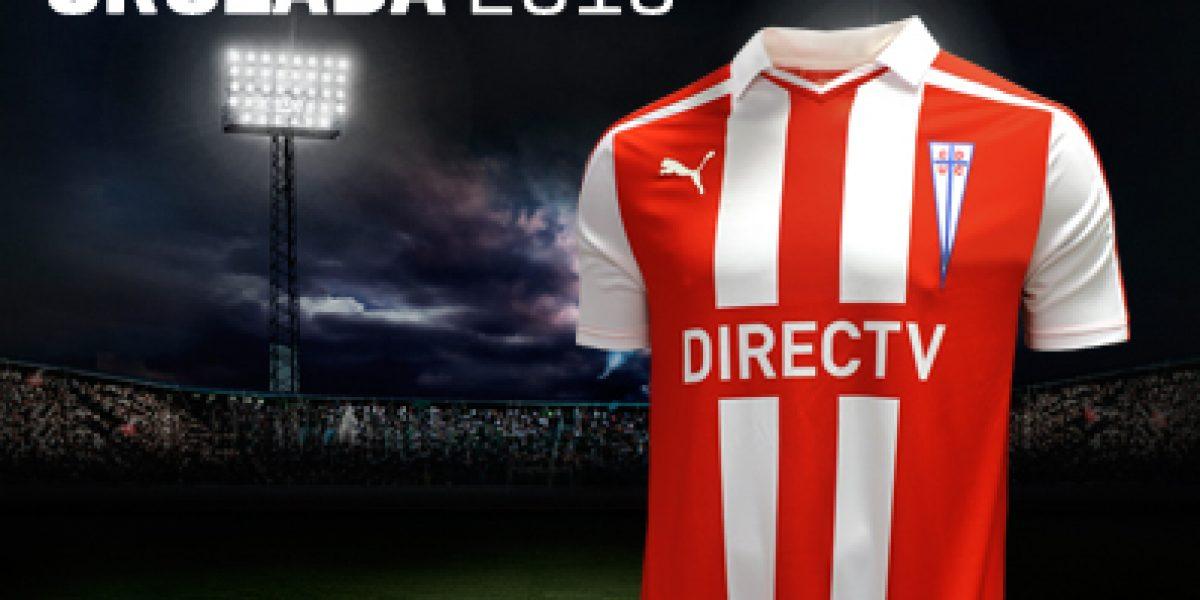 Galería: La UC presenta su nueva camiseta para enfrentar Sudamericana y Copa Chile