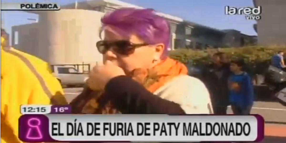 Patricia Maldonado vivió su día de furia