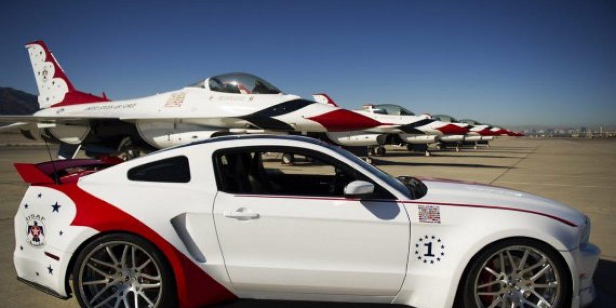 Este Ford Mustang GT conmemora a la fuerza aérea Norteamericana