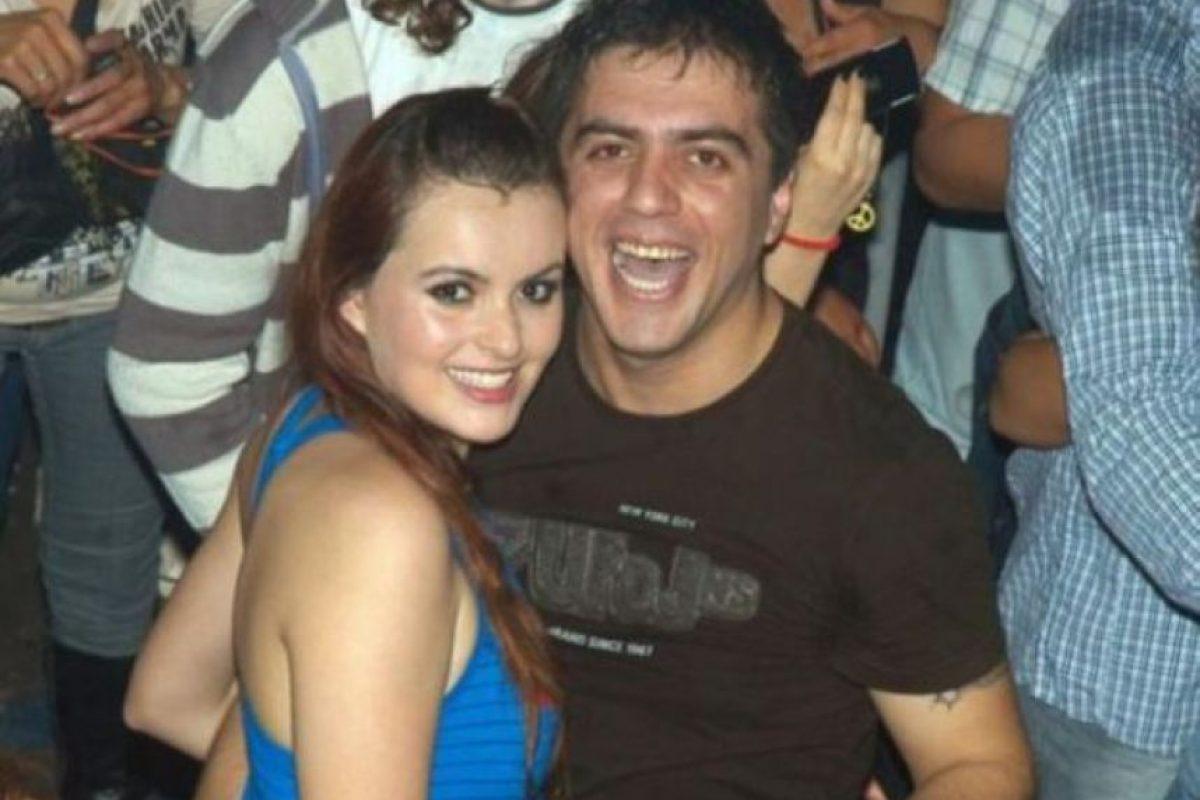Víctor Cingolani junto a su víctima Johana Casas en el 2010 (Foto: Daily Mail). Imagen Por: