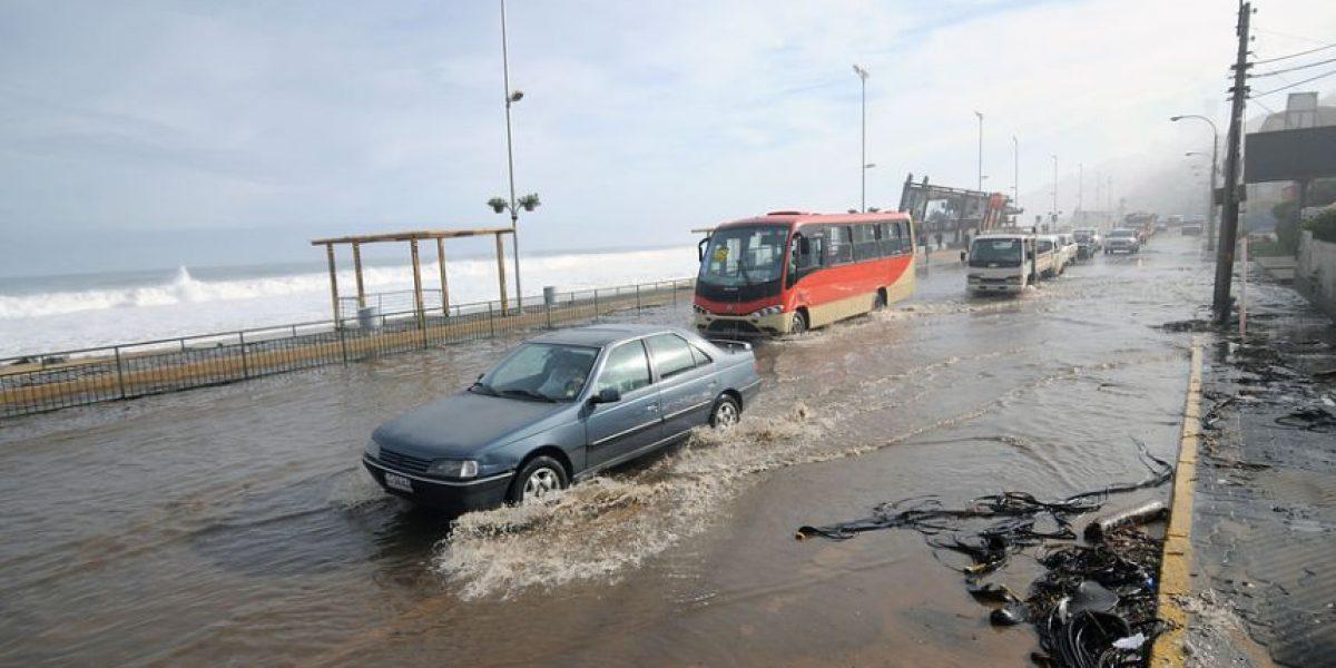 [FOTOS] Fuertes marejadas afectan a la Quinta Región