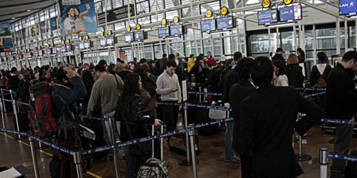 Se espera alto flujo de pasajeros aéreos durante vacaciones de invierno