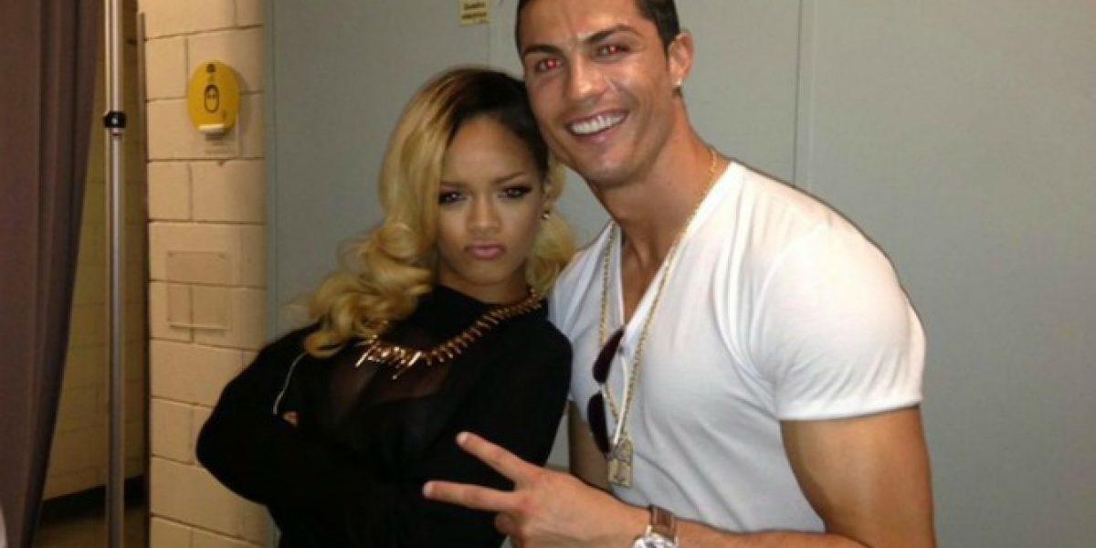 Rihanna ante pregunta sobre Cristiano Ronaldo: