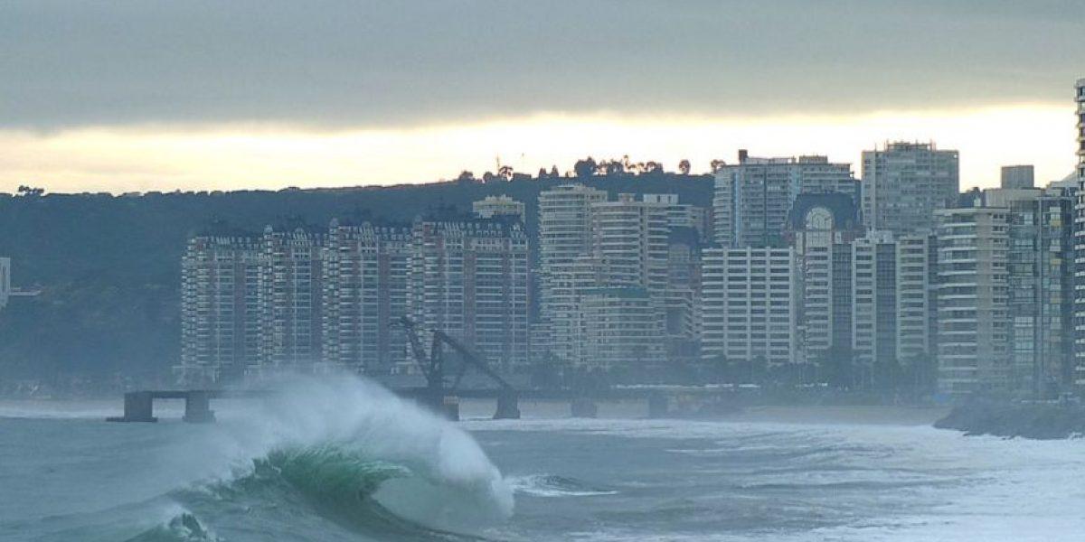 [FOTOS] Marejadas: Alerta Temprana Preventiva en las comunas de Tocopilla, Mejillones, Antofagasta y Taltal