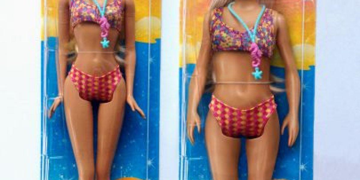 Así se vería una Barbie con las medidas de una mujer normal