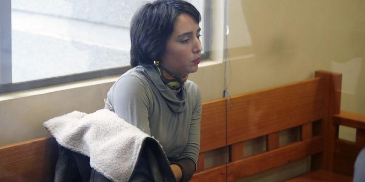 [FOTOS] Secta Colliguay: Francisca Ceroni es formalizada por encubrir muerte de lactante