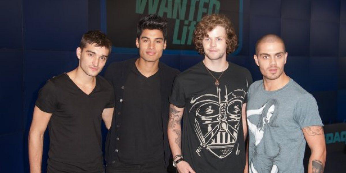 Banda The Wanted presenta su single: