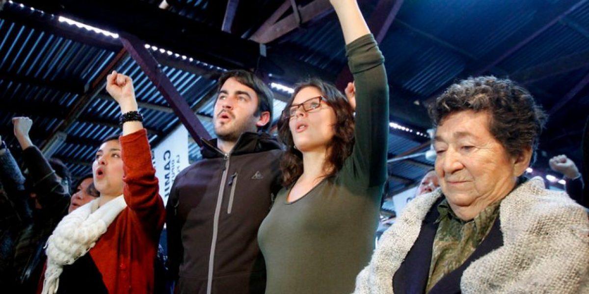 [FOTOS] Camila Vallejo lanzó su campaña a diputada por La Florida