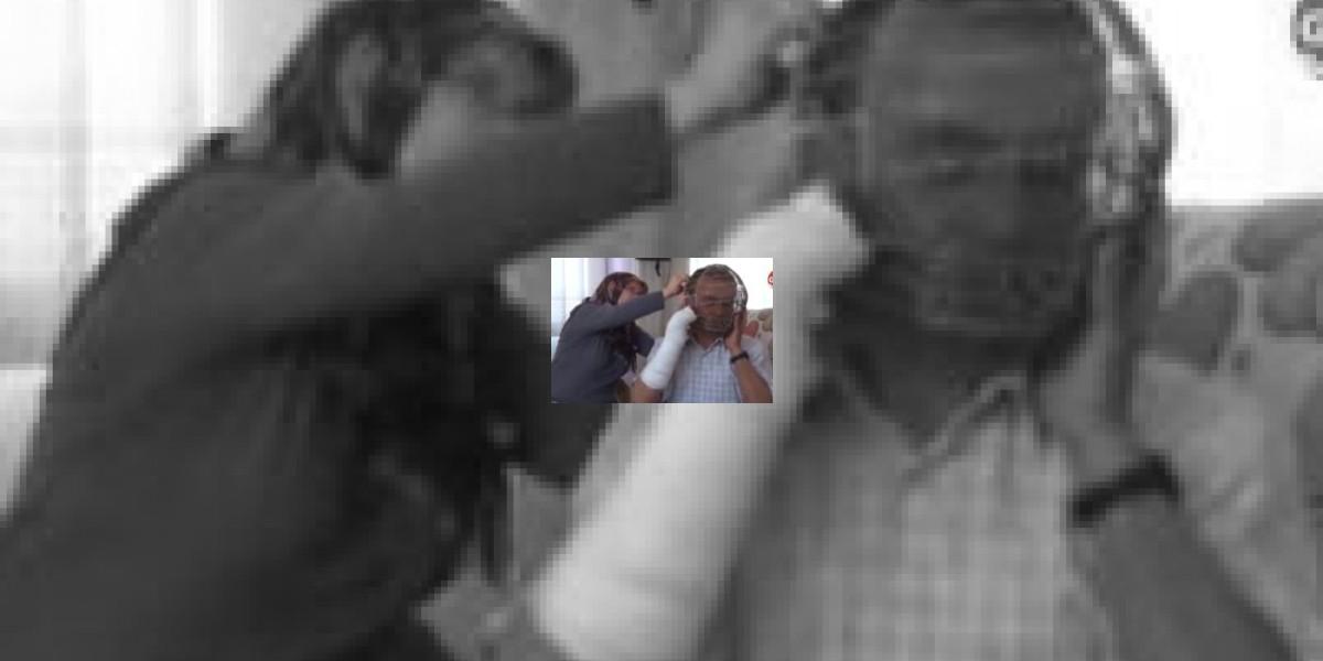 Insólito: Vive con una jaula en la cabeza para dejar de fumar