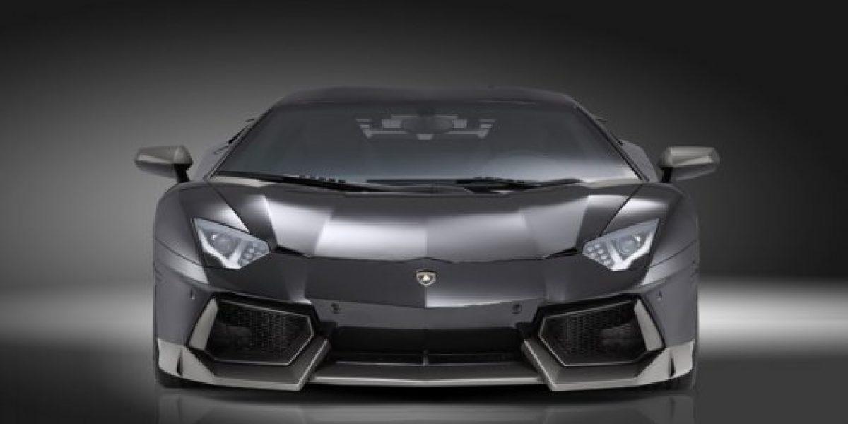 FOTOS:Un Lamborghini Aventador tuneado