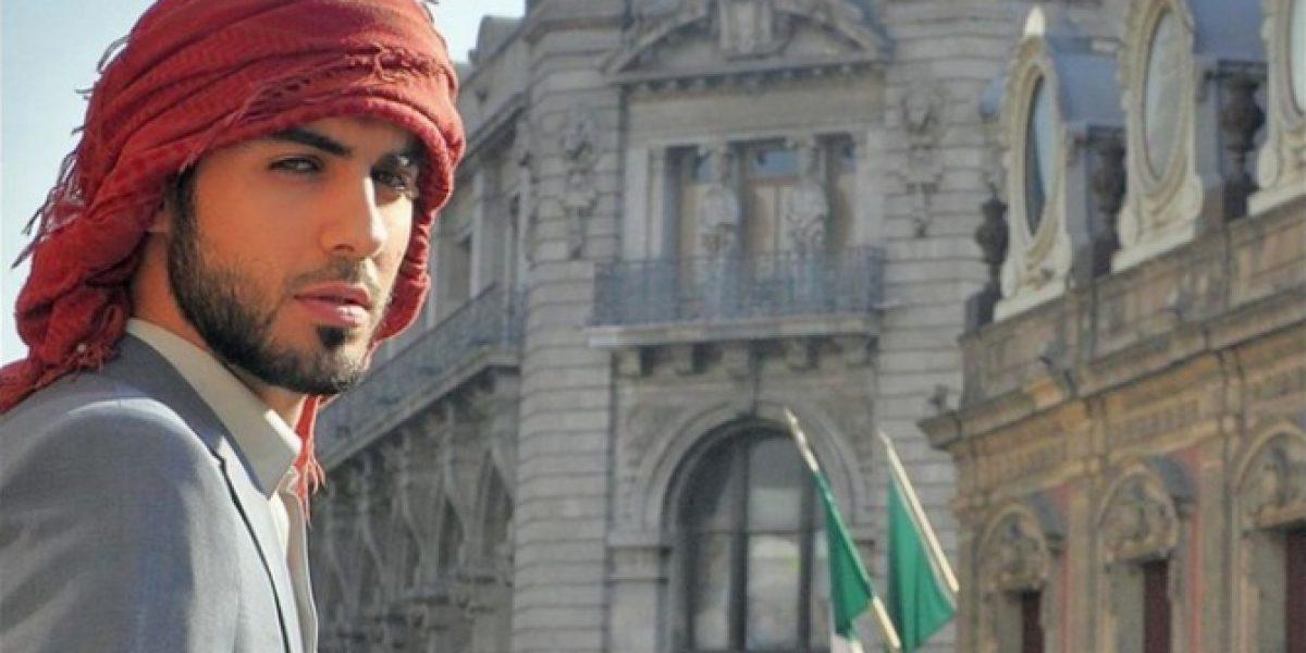 Árabe más guapo del mundo posará para Jordi Castell en su visita a Chile