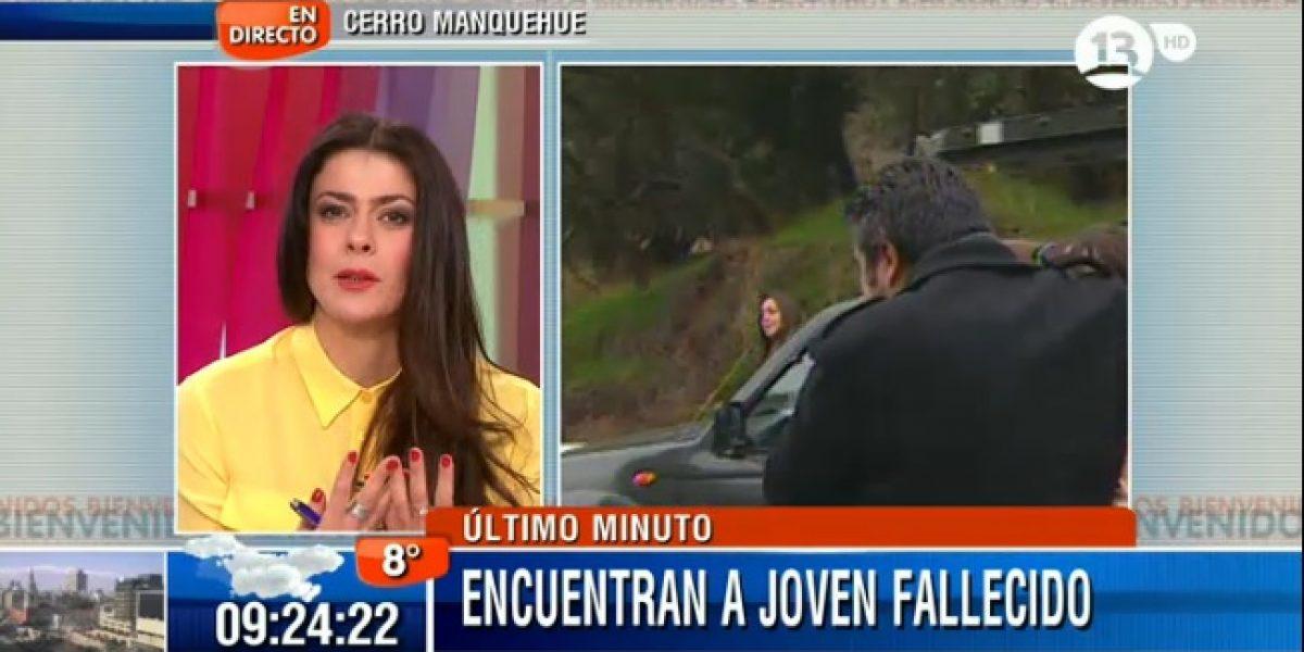 Matinales piden disculpas por cobertura de joven fallecido en cerro Manquehue