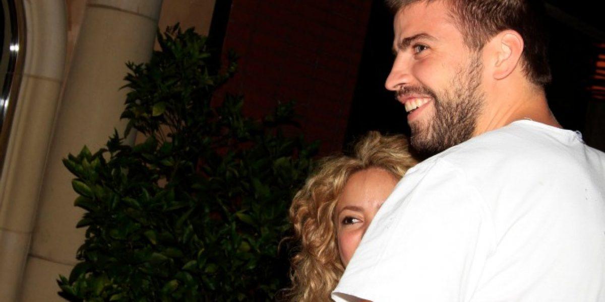 Piqué hizo sonrojar a Shakira con romántico regalo