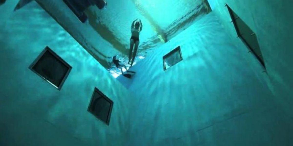[FOTOS] Esta es la piscina más profunda del mundo