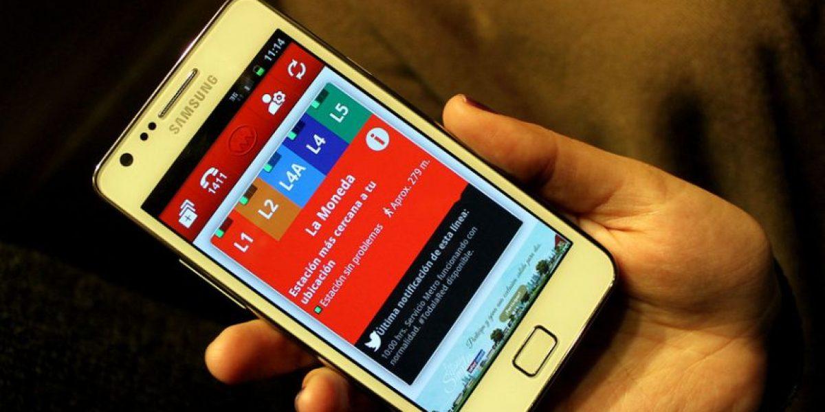 Metro de Santiago lanza aplicación móvil para planificar viajes