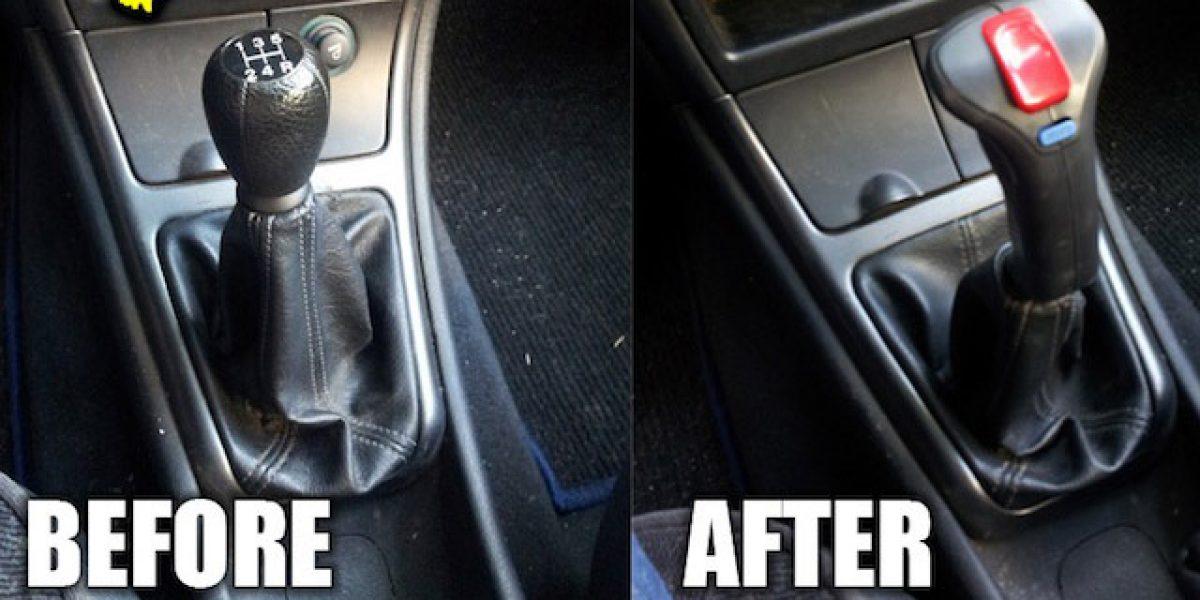 Reemplaza tu palanca de cambio por un joystick