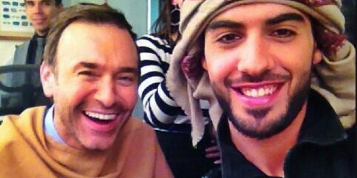 Jordi Castell publica foto en Twitter con el árabe más guapo del mundo