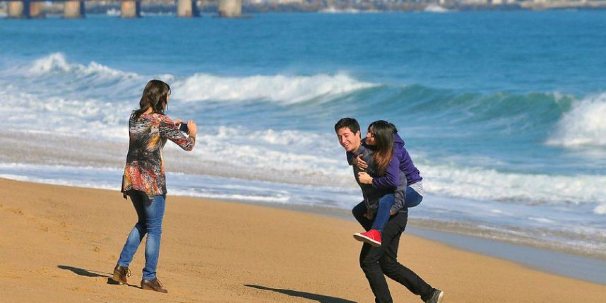 Fotos: Espectacular día disfrutan turistas en la Quinta Región