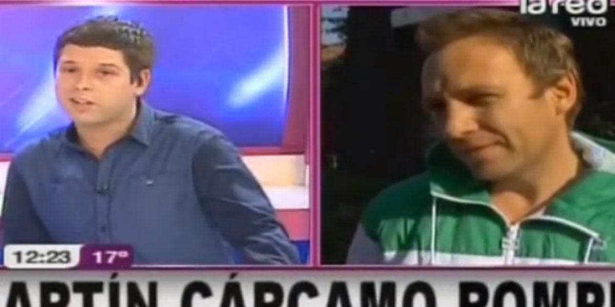 Martín Cárcamo tomará acciones legales tras acusación de paternidad