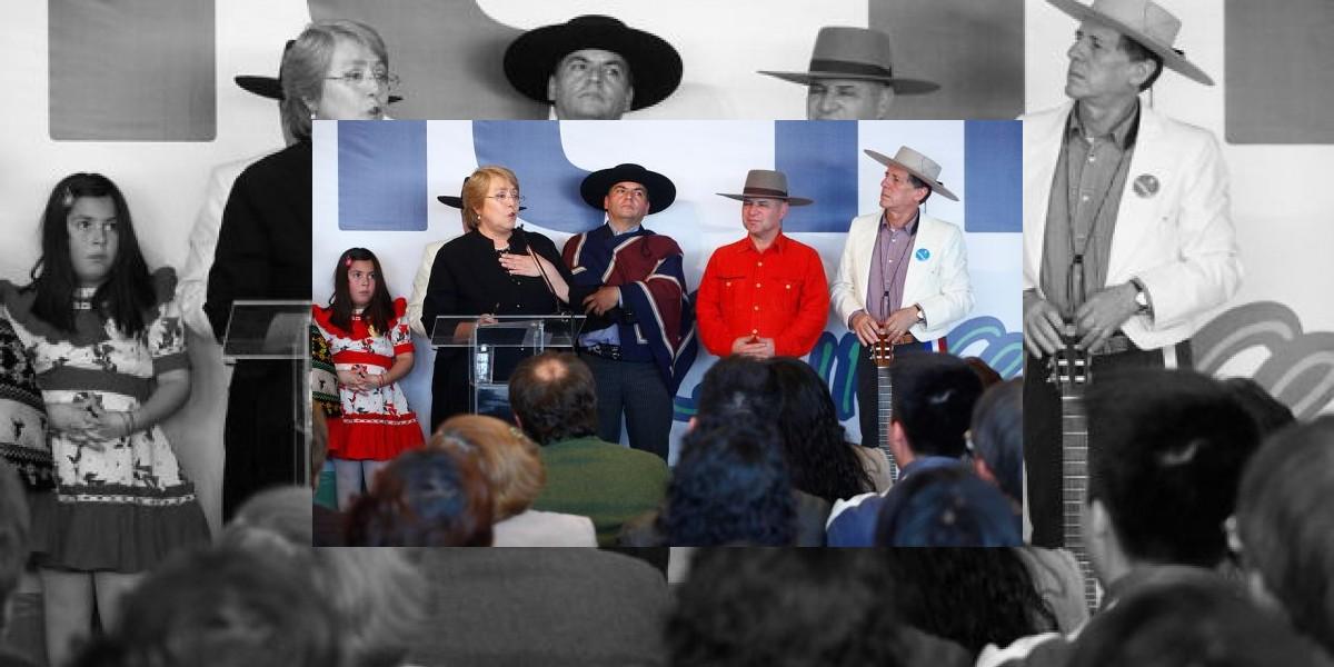 Bachelet y Capriles: