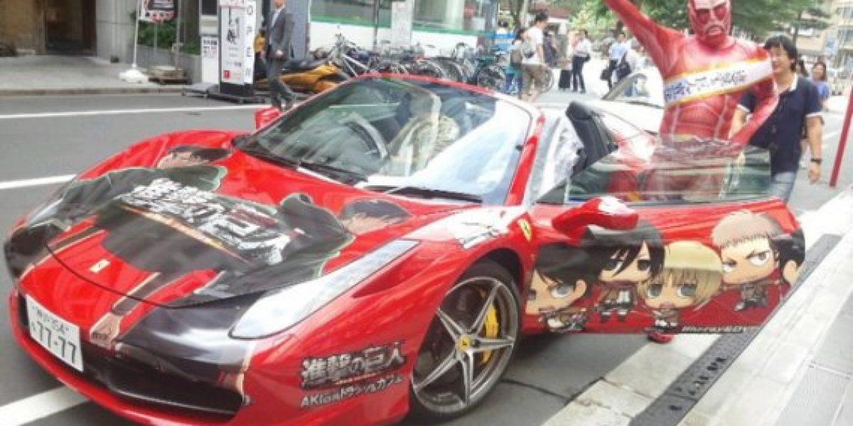 Un Ferrari para los fanáticos del animé